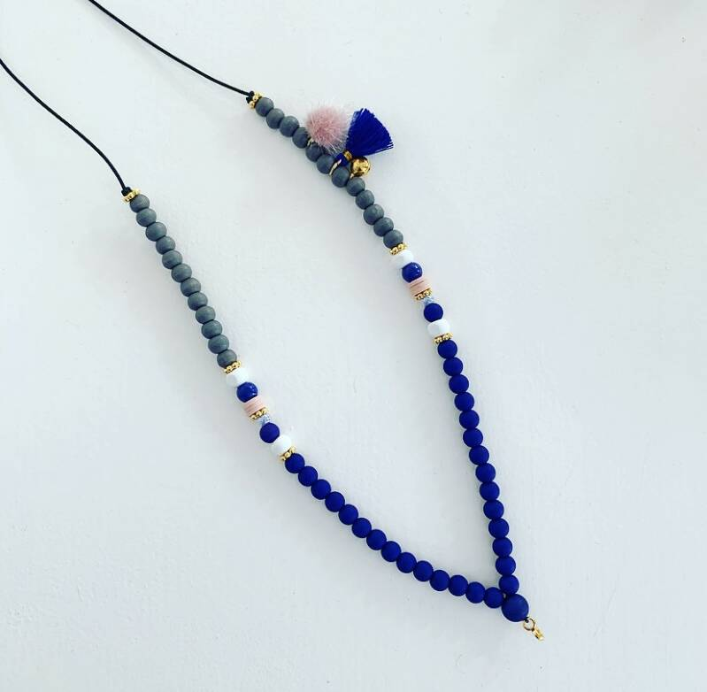 Blue marlin ketting