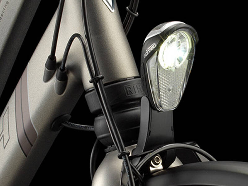 Led koplamp RIH Z-Omega 3 [2015-   ] met USB aansluiting e-bike