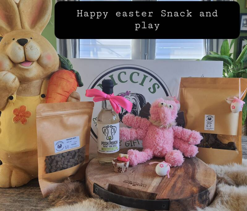 Happy Easter Snack and Play