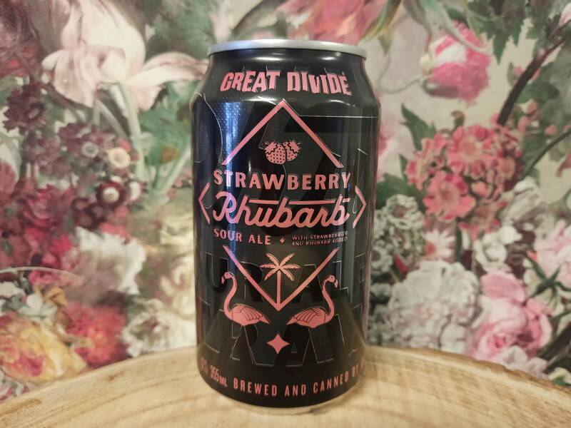 Great Divide - Strawberry Rhubarb