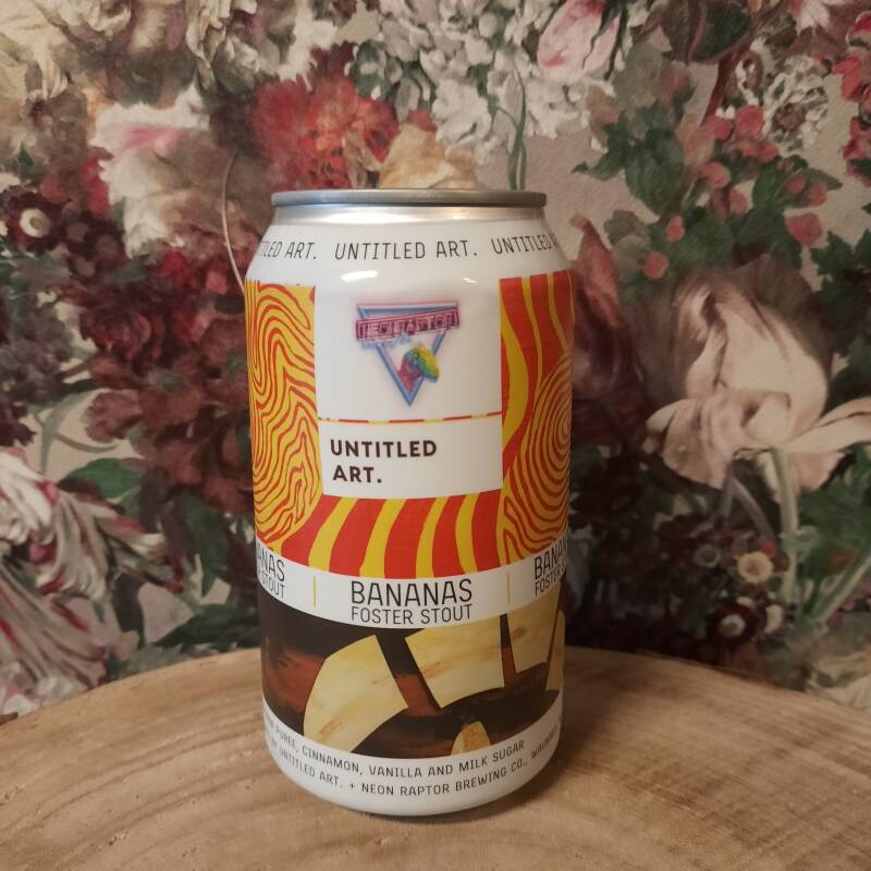 Untitled Art. - Bananas Foster Stout
