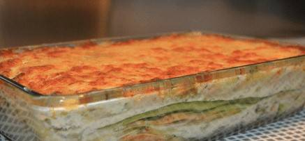 Lasagne (op basis van courgette) 5 porties