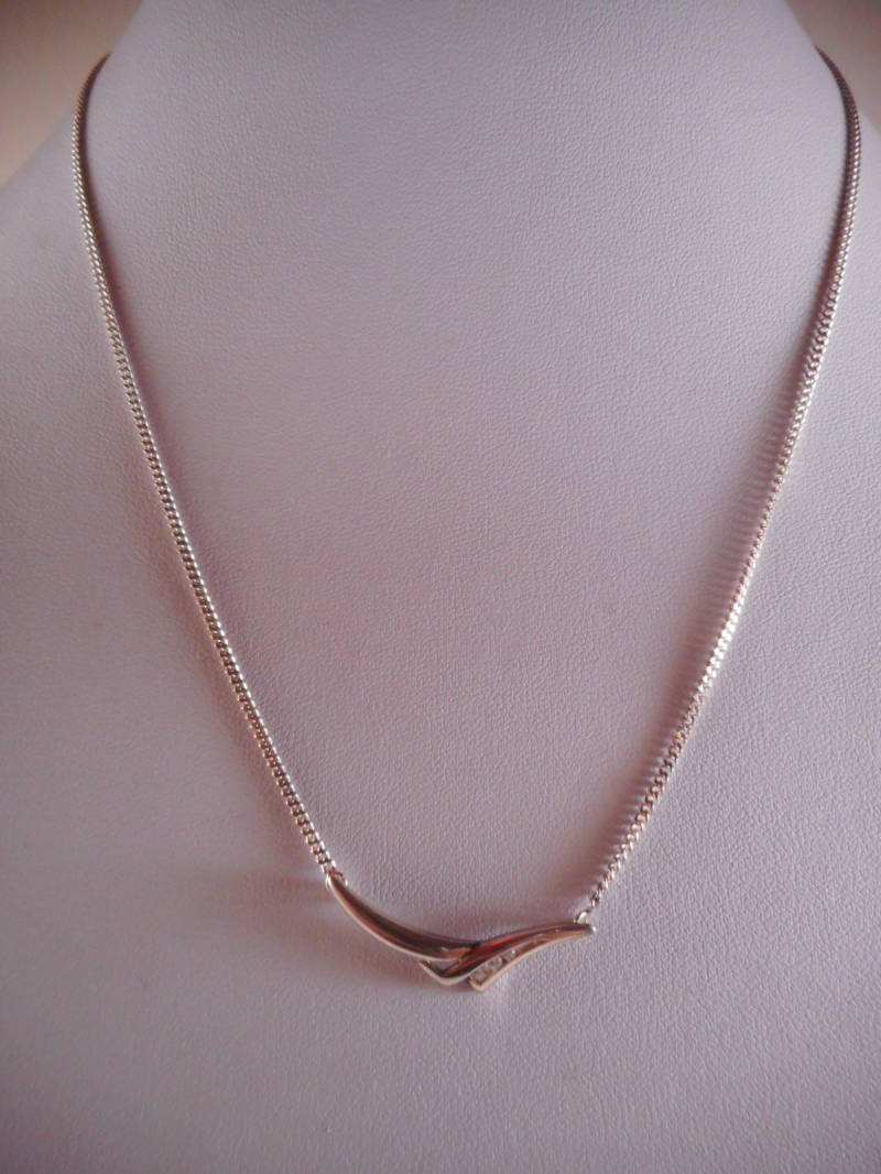 Zilveren Collier (Design Nmr-07)