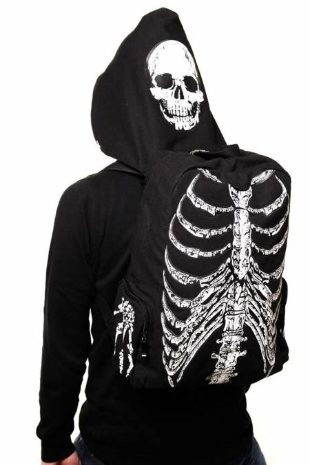 Banned Skeleton Backpack