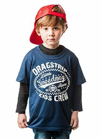 Dragstrip Little Speedway Racer Kids Crew