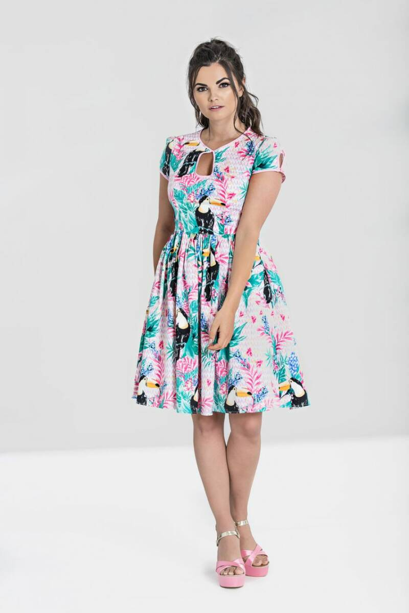 Toucan Mid Dress