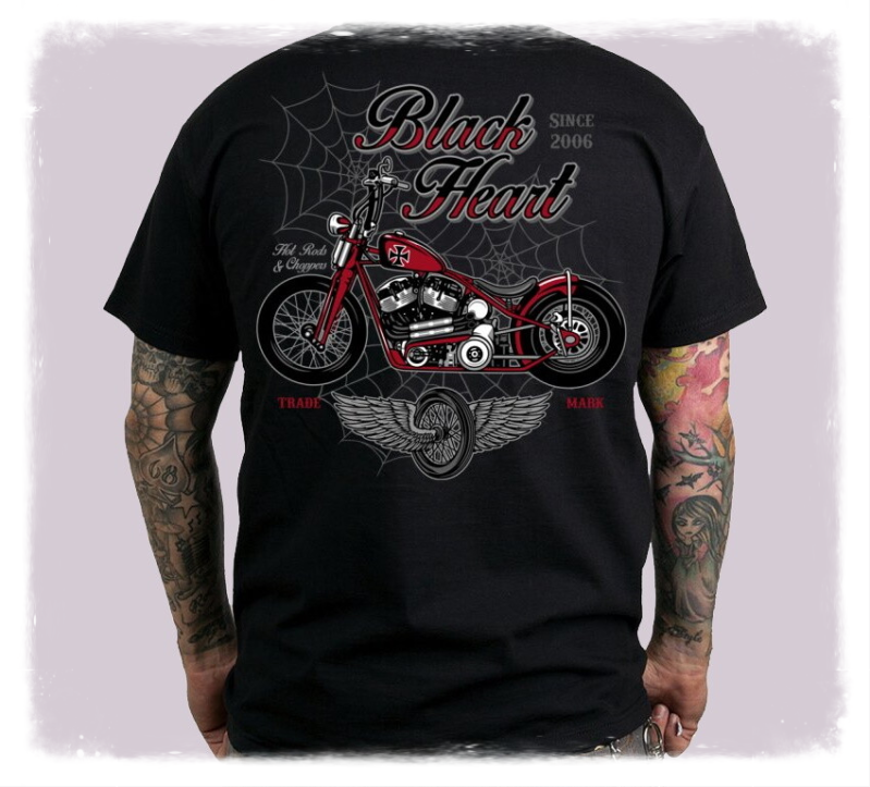Black Heart RED BARON CHOPPER