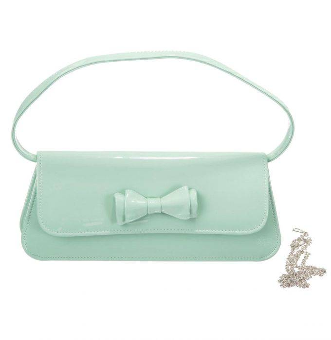 Dancing Days By Banned Apparel Mimi Mint Clutch Bag