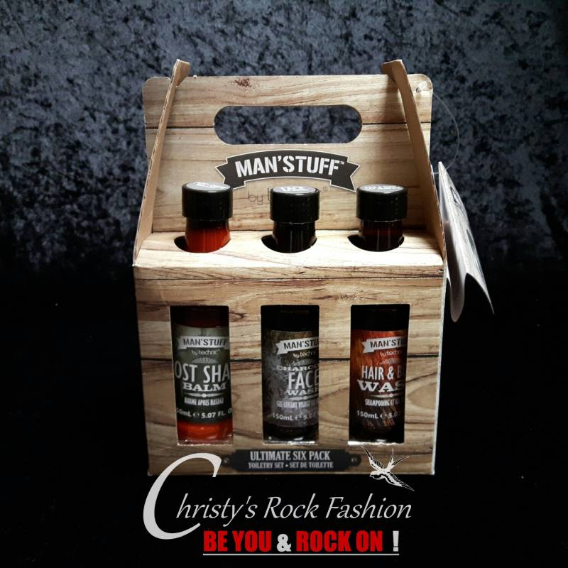 Man'Stuff Ultimate Six Pack, Verzorging Gift Set