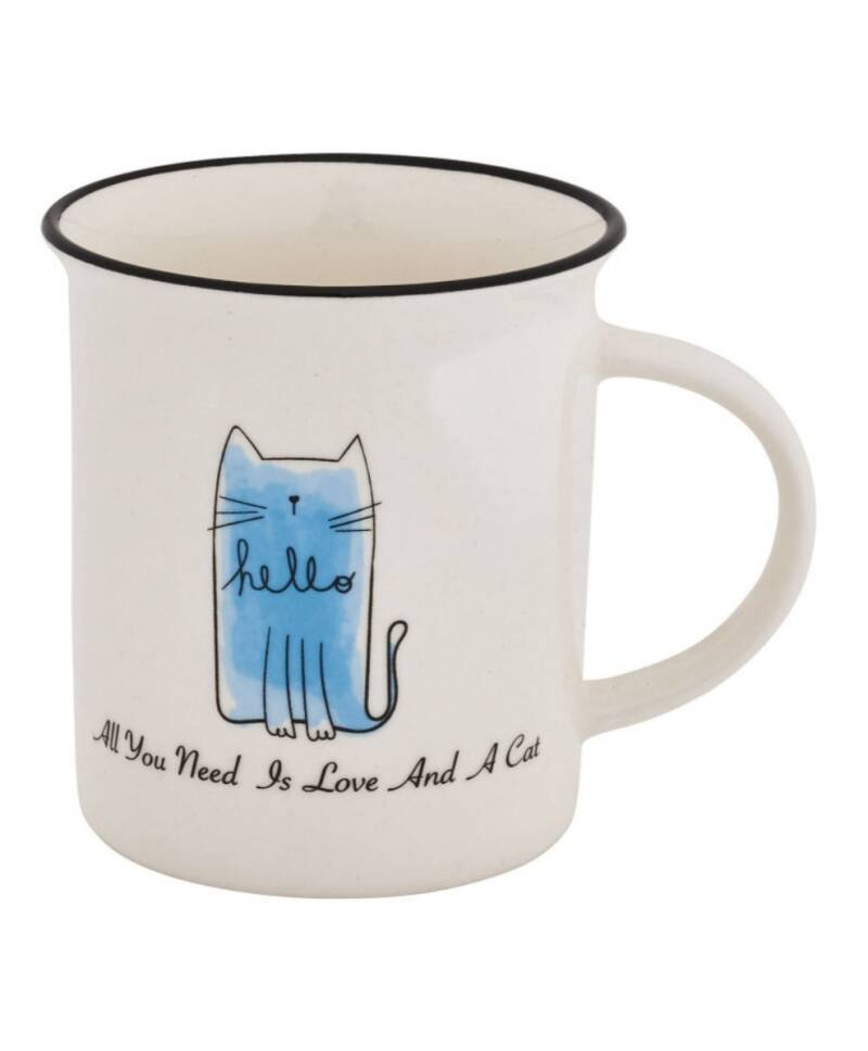 Mok All you need is love and a cat