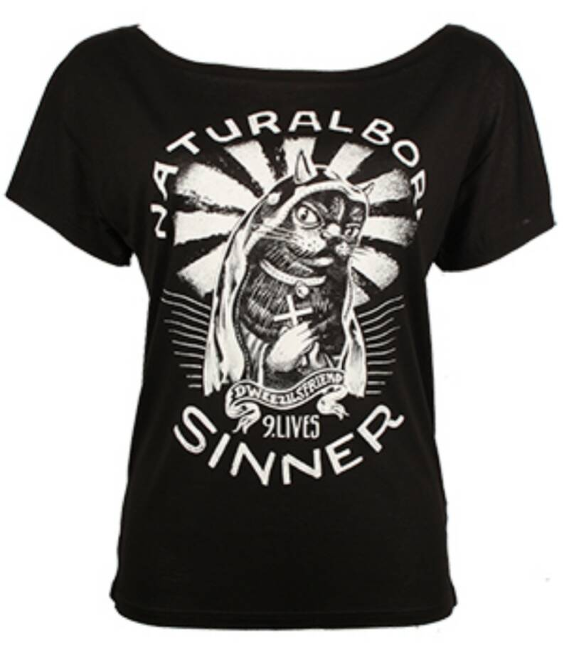 Bamboe T-shirt Born Sinner Dames