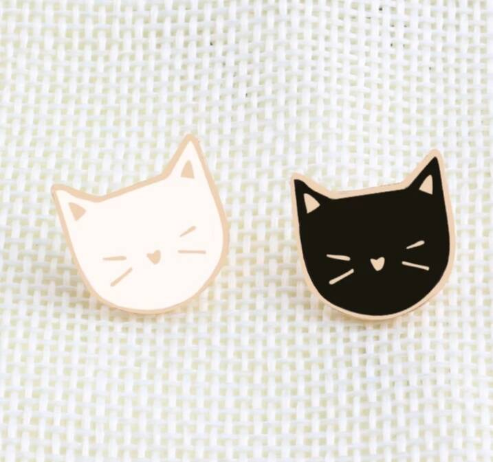 Pin cat face