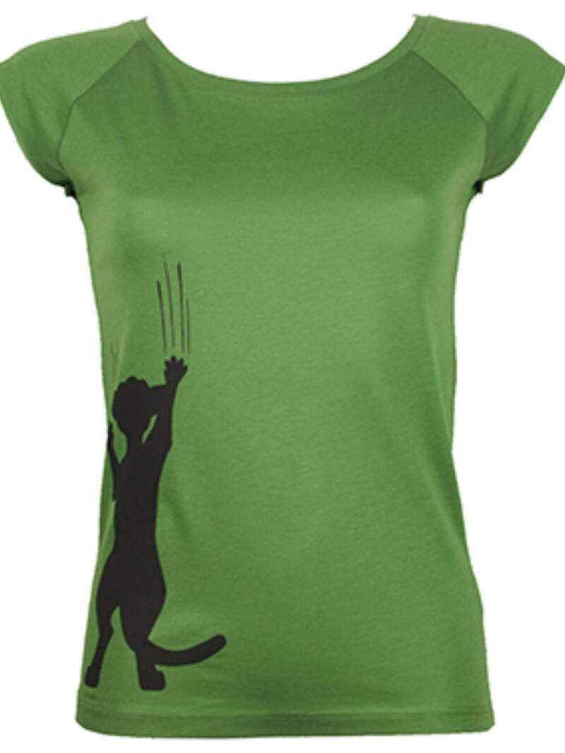 Bamboe T-shirt Cathy Scratch Dames