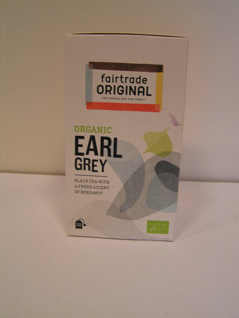 Fairtrade Thee earl grey, bio, 20x1,5g