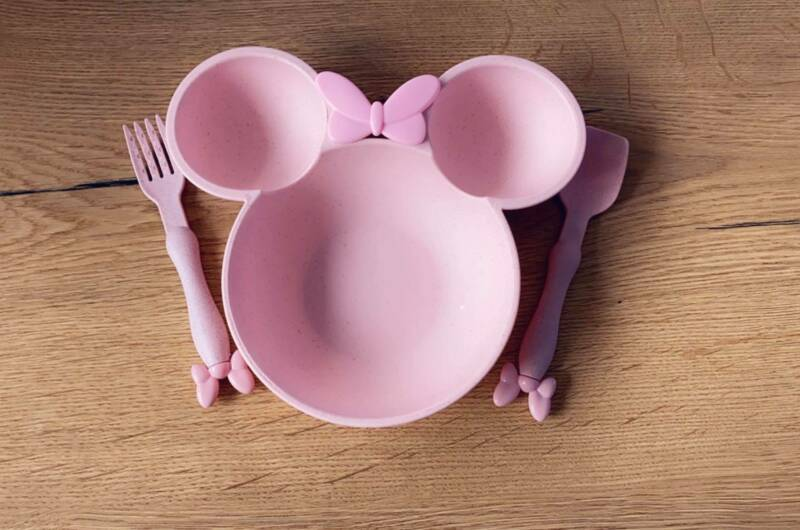 BABY DINNER PLATE - PINK