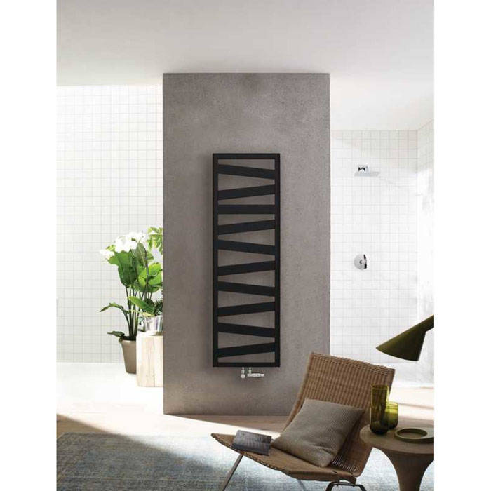 Design radiator Zehnder Ribbon in 8 maten