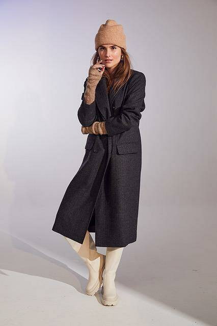 Co'couture - Taylor heringbone coat