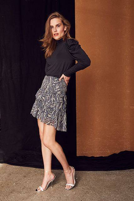 Co'couture - Winding smock skirt