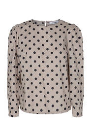 Co'couture - Terra dot blouse
