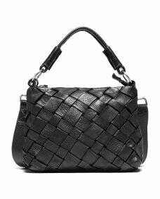 Depeche - Crossover bag in braided leather