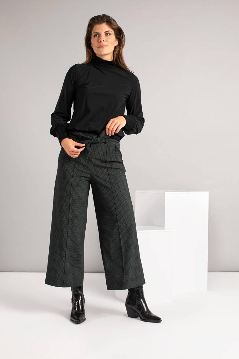 Studio Anneloes - Charlotte small check trousers