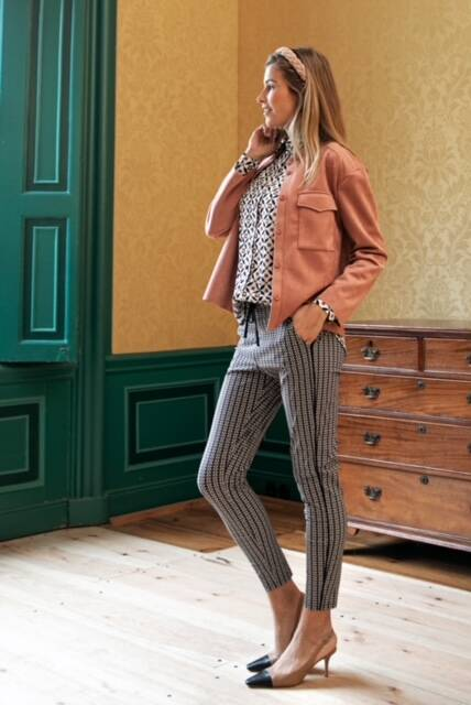 Studio Anneloes - Road royal trousers