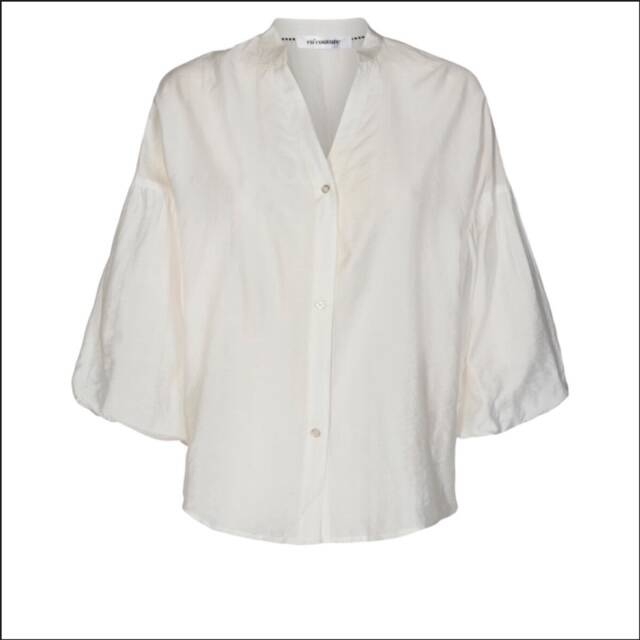 Co'couture - Avery balloon shirt - Off white