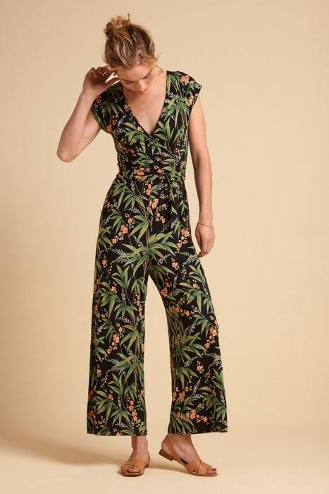 King Louie - Lot Cropped Jumpsuit Tahiti