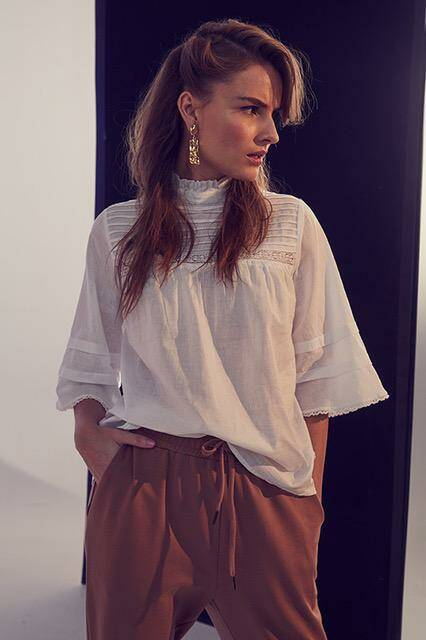 Co' couture - Lola pintuck blouse whiet