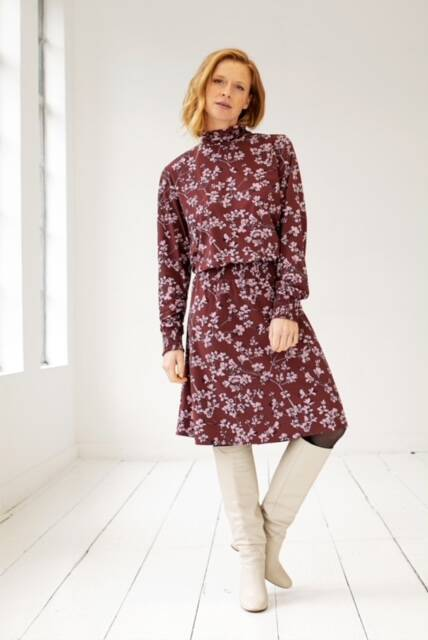 Studio Anneloes - Ruby flower dress
