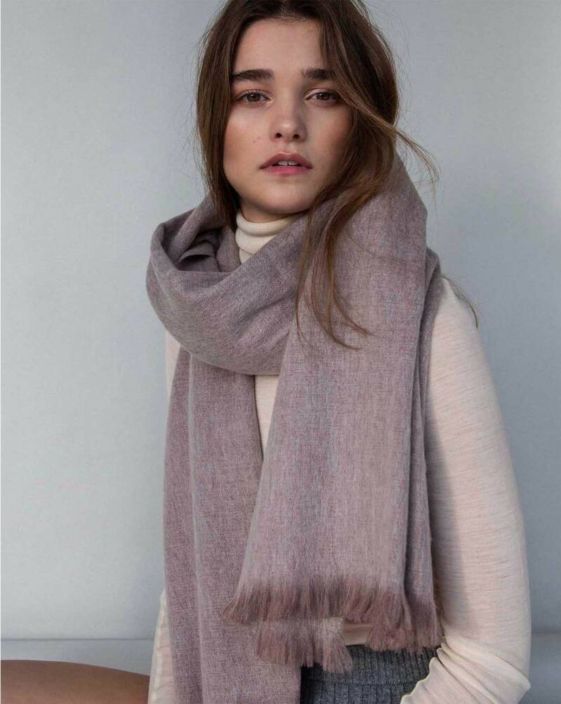 Bufandy - Brushed solid - pale purple