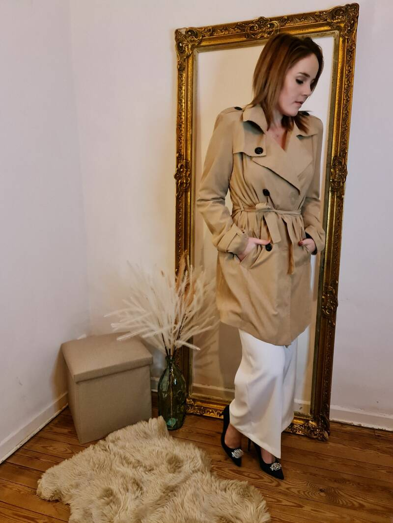 smooth trence coat