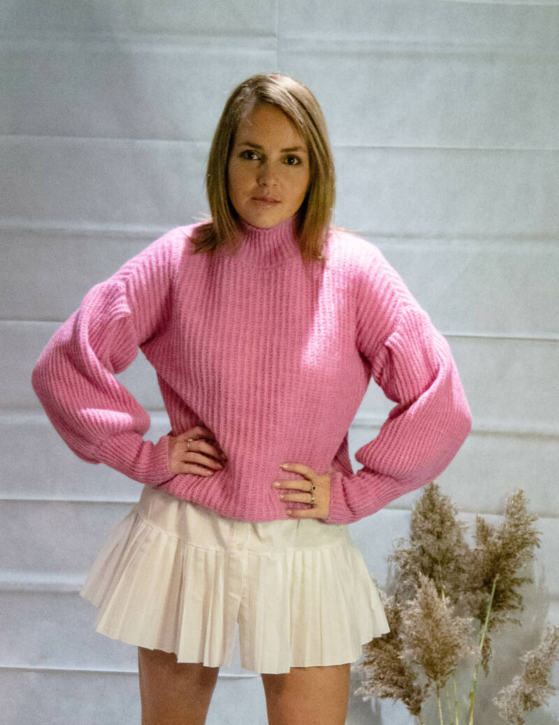 Pink Knitted pull