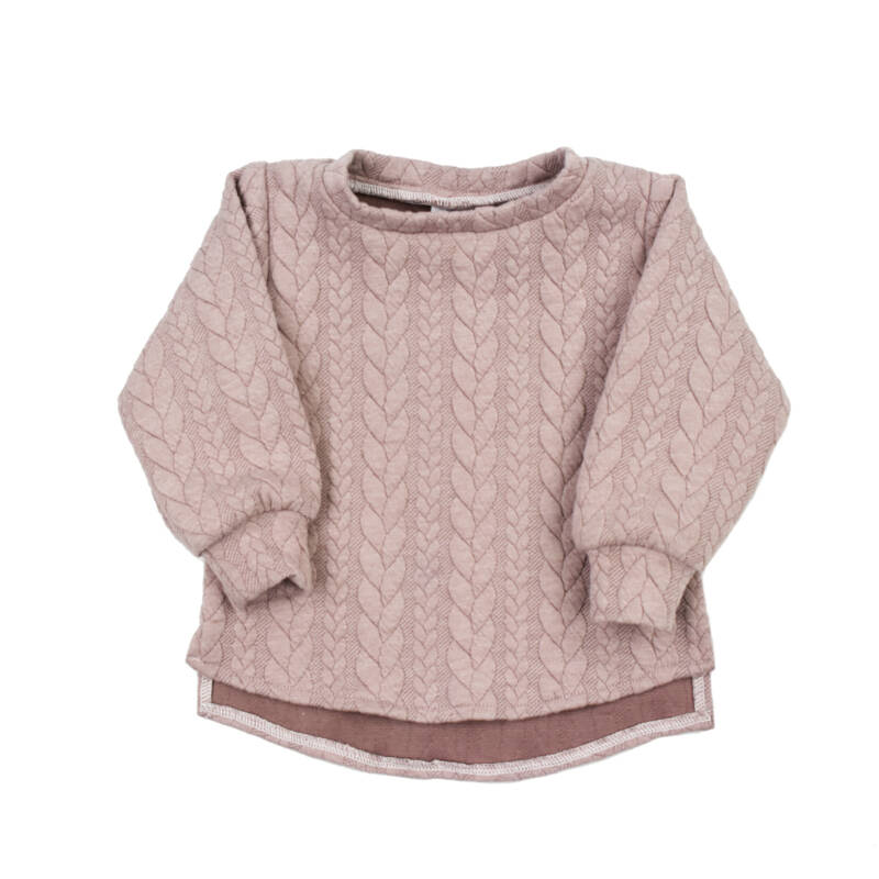 Sweater Cable - Misty Rose