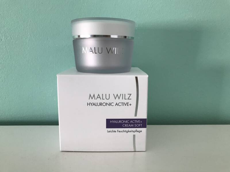 Hyaluronic soft cream