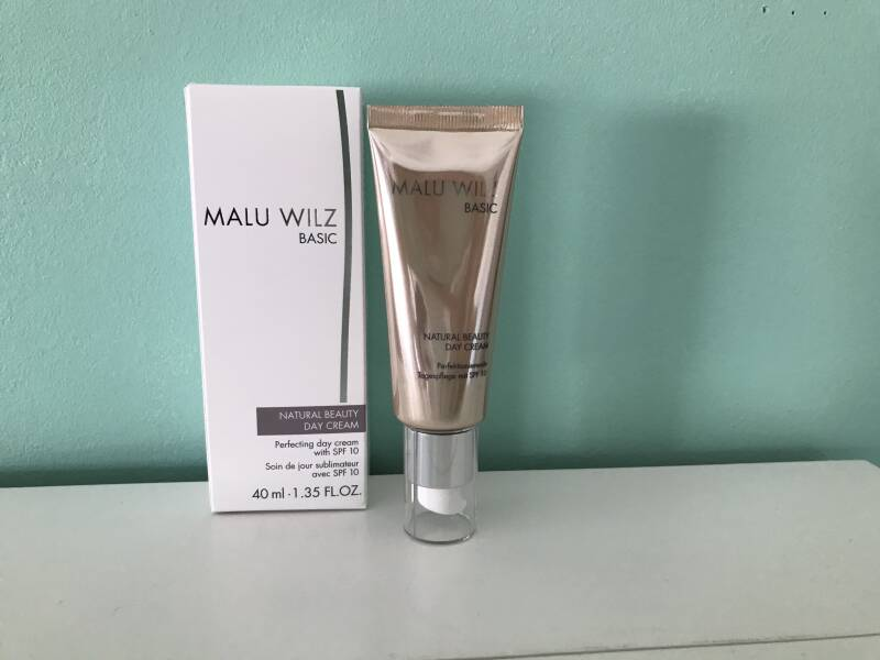 Natural beauty day cream