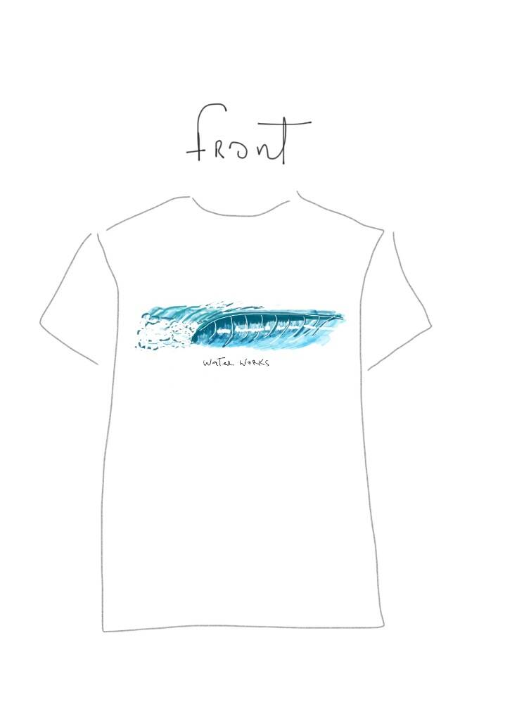 T-SHIRT - #1 - THE WAVES EDITION