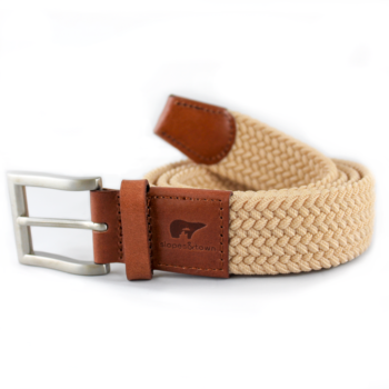 John sand colour belt