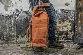 PACK DUFFLE TAS Leather