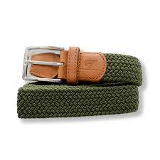 Kevin olive green belt