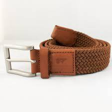 Ronnie camel brown belt