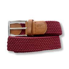 Xavi burgundy belt