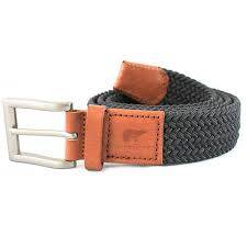 Philip dark grey belt