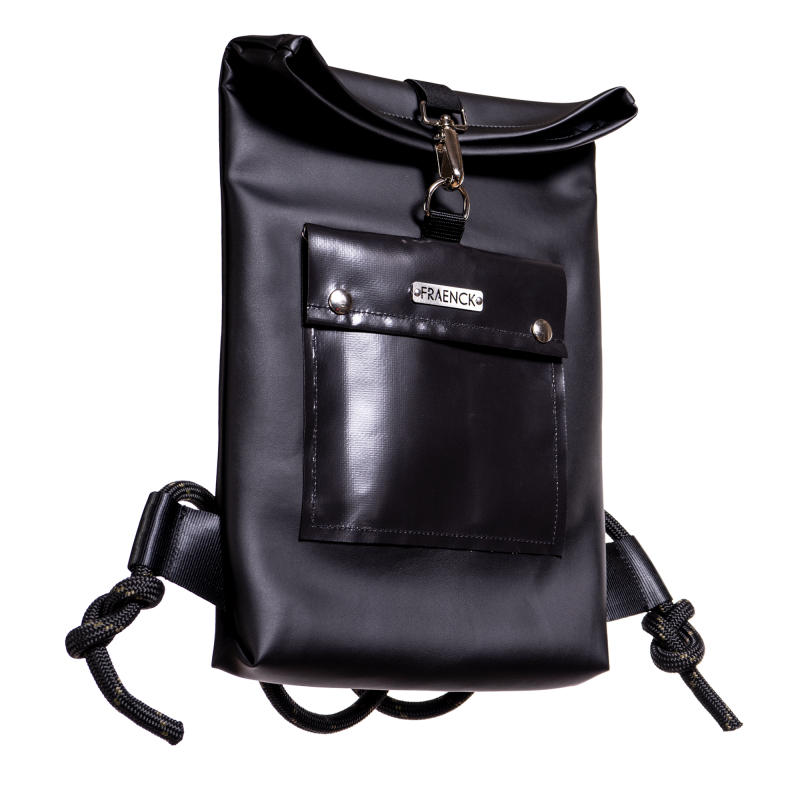 MIKE   SMALL BACKPACK Vegan Leather