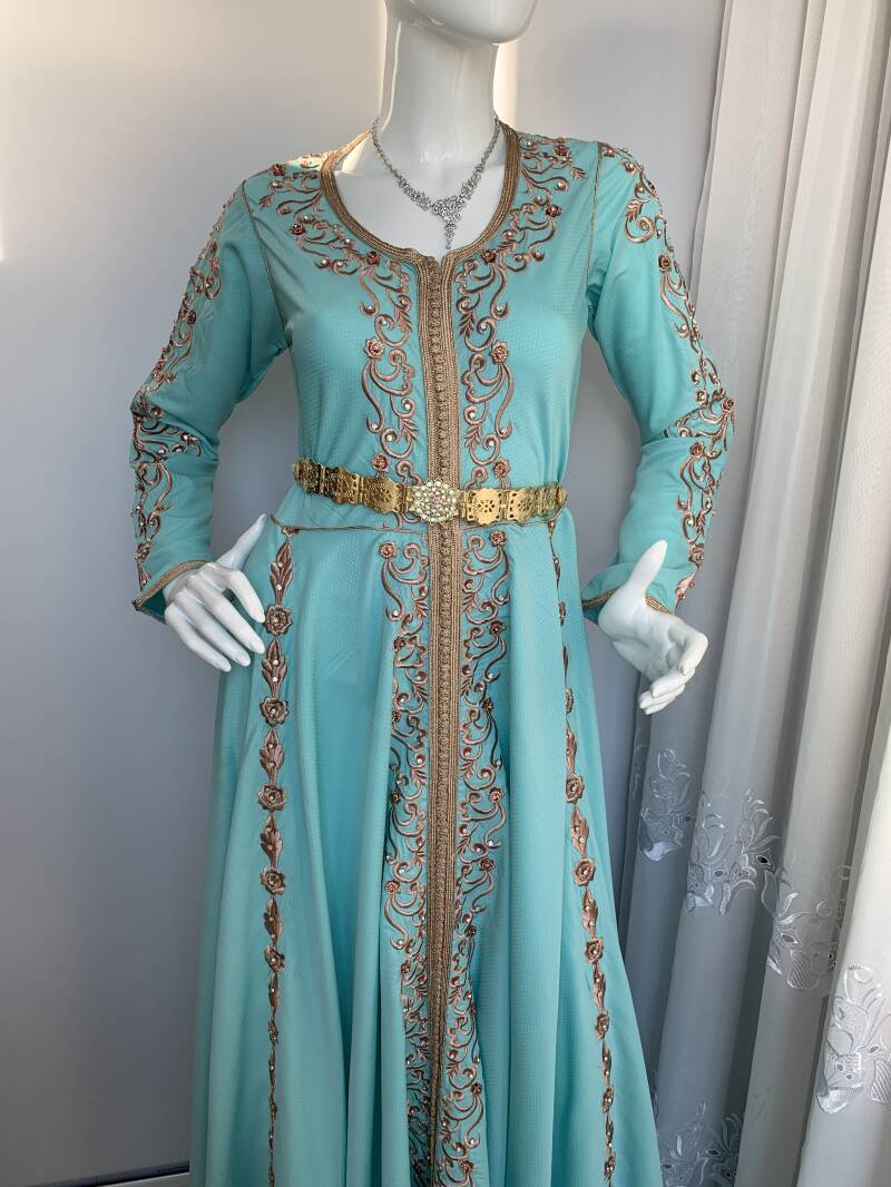 Kaftan jurk, kaftan dress