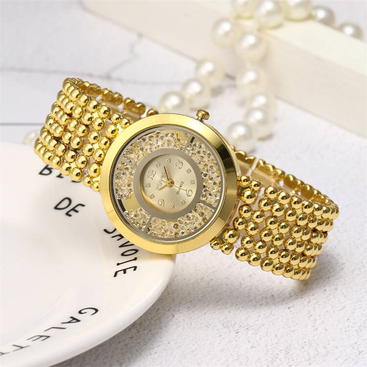 Shiny Gold lady's watch