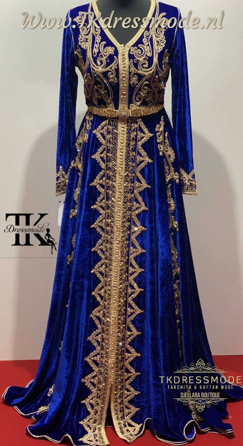 Baljurk Kaftan Dress  ( Mubra, Velvet )          Art. Nr 2.0009