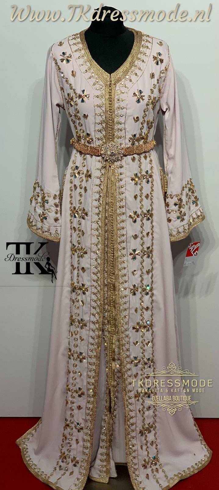 Takchita Dress  ( Crepe Satin )Art. Nr 3.0015