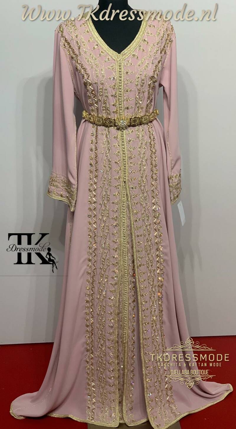 Takchita Dress  ( Crepe Satin )Art. Nr 3.0009