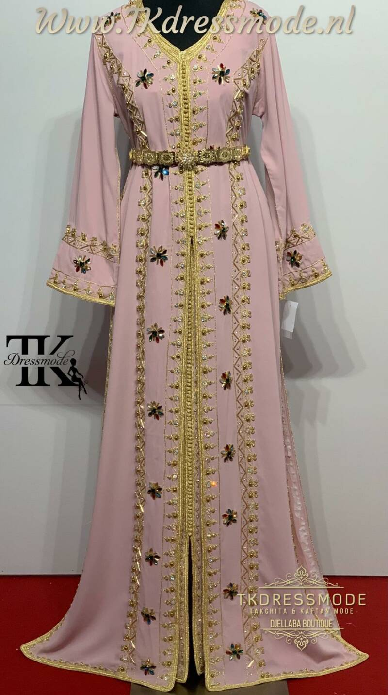 Takchita Dress  ( Crepe Satin )Art. Nr 3.0007